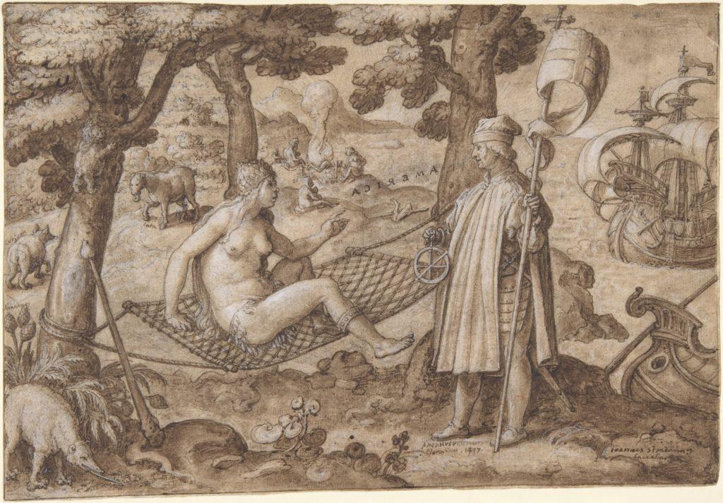 Discovery of America: Vespucci Landing in America