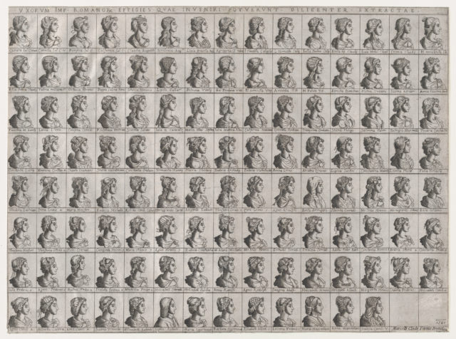 Speculum Romanae Magnificentiae: Portraits of the Wives of Emperors