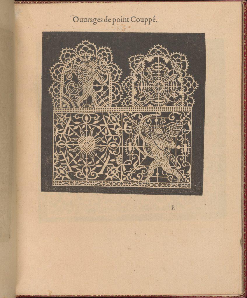 Les Singuliers et Nouveaux Portraicts... page 17 (recto)