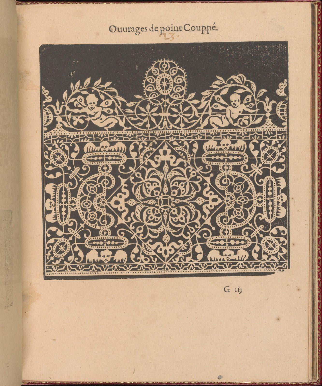 Les Singuliers et Nouveaux Portraicts... page 27 (recto)
