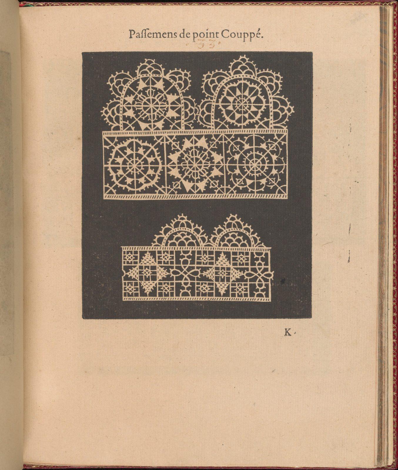 Les Singuliers et Nouveaux Portraicts... page 37 (recto)