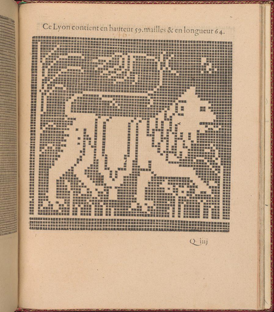 Les Singuliers et Nouveaux Portraicts... page 64 (recto)