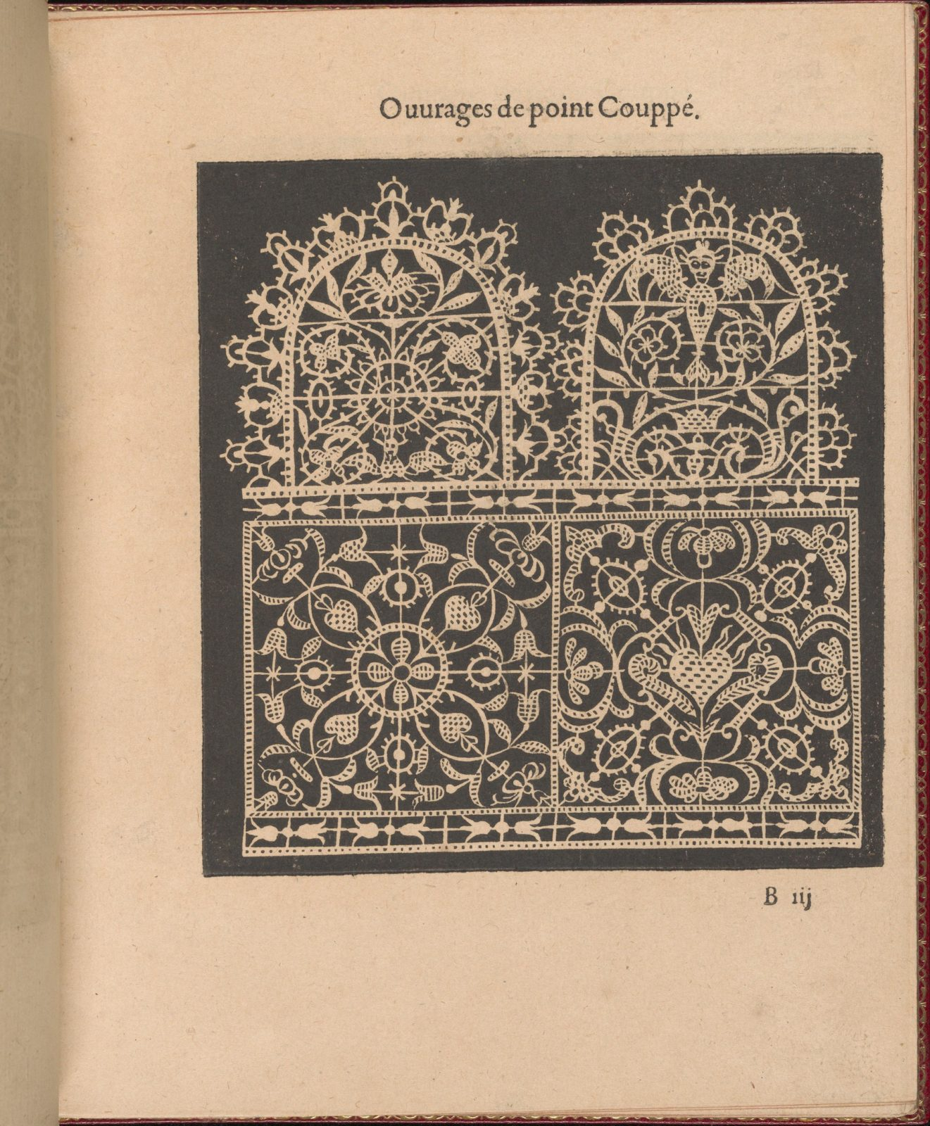 Les Singuliers et Nouveaux Portraicts... page 7 (recto)