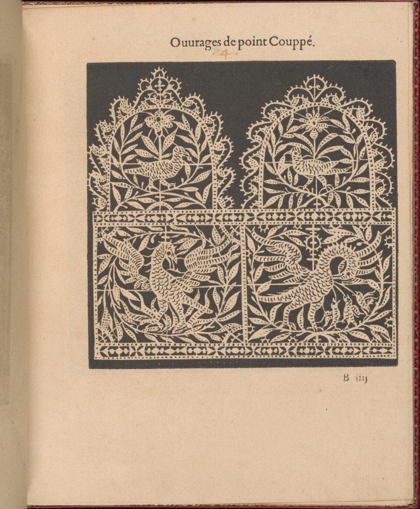 Les Singuliers et Nouveaux Portraicts... page 8 (recto)