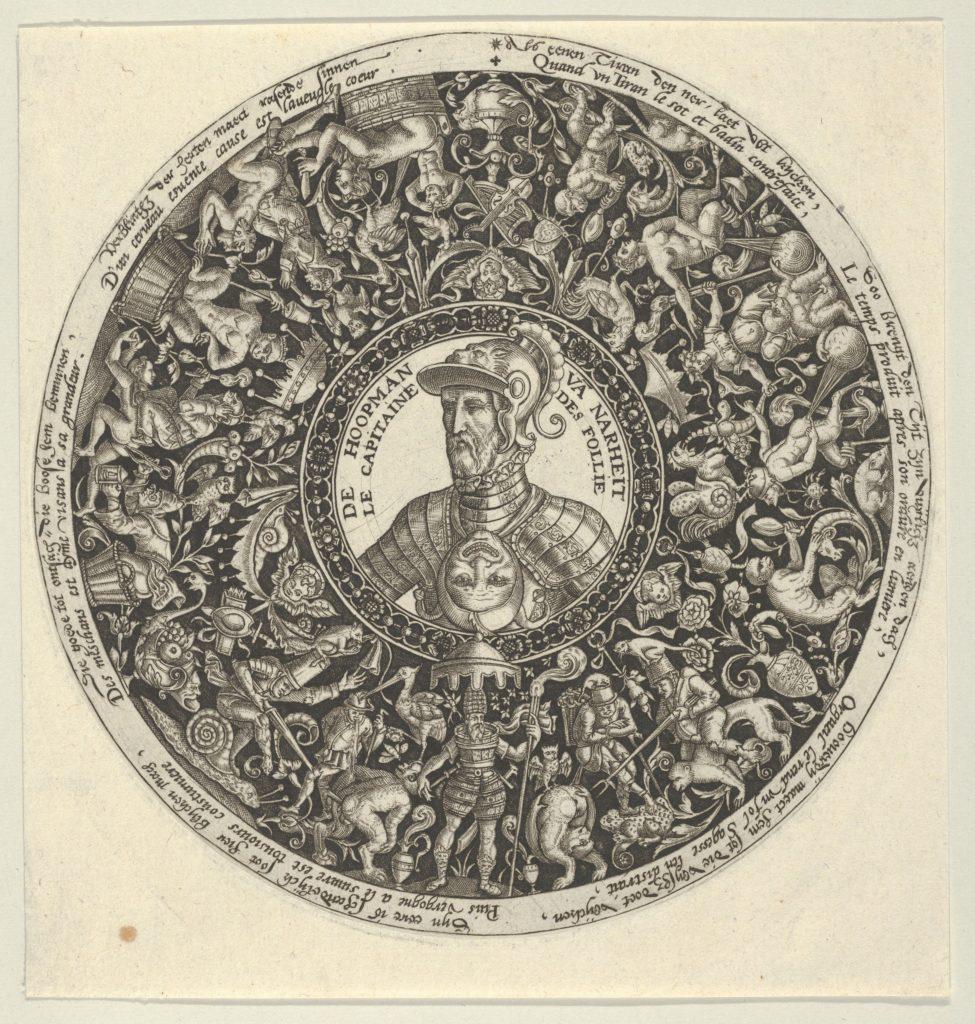 Portrait of the Duke of Alva, from a Series of Tazza Designs