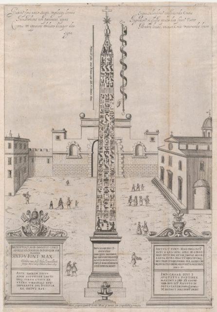 Speculum Romanae Magnificentiae: The Egyptian Obelisk of Augustus