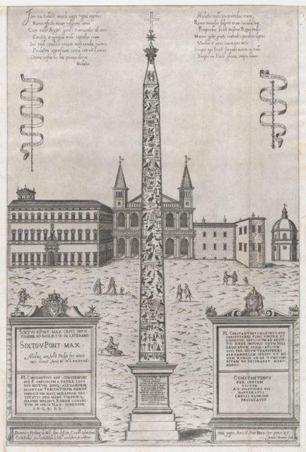 Speculum Romanae Magnificentiae: The Egyptian Obelisk of Constantine