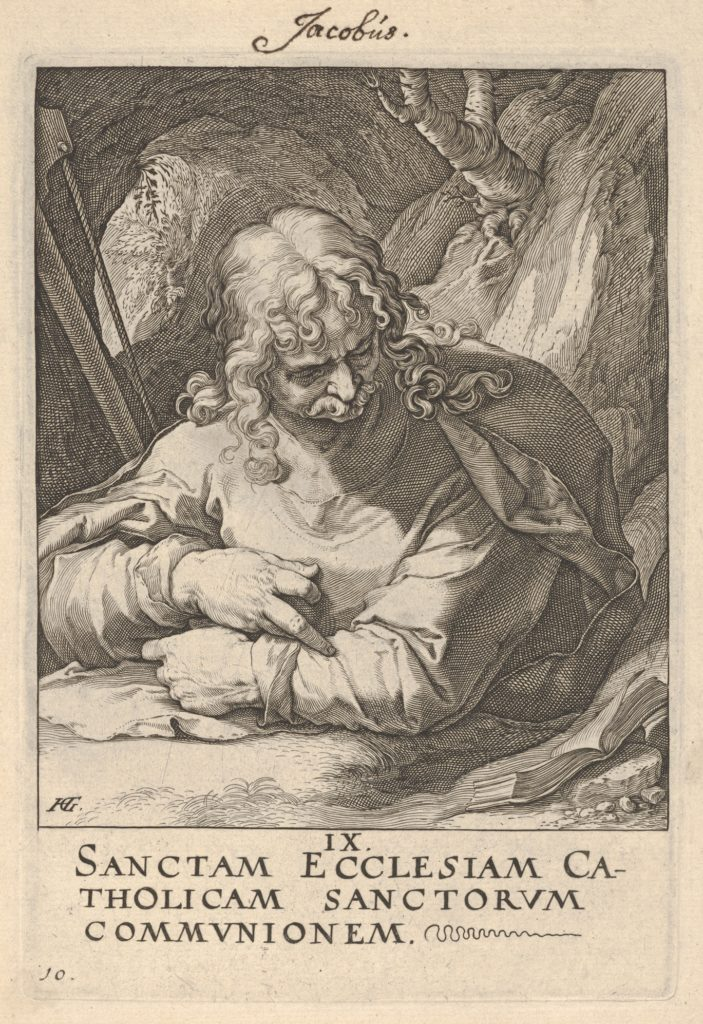 St. James the Less, from Christ,  the Apostles and St. Paul with the Creed