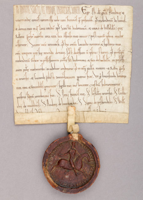 Seal of Augustus, Duke of Saxony