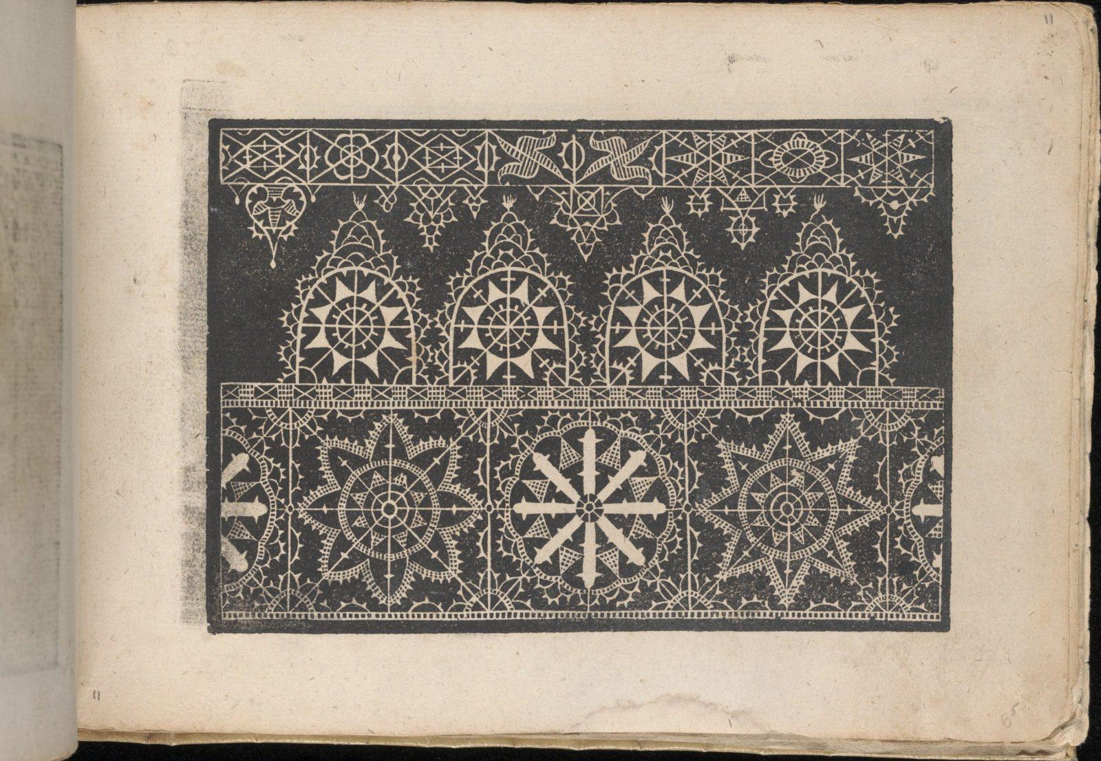 Fiori di Ricami Nuovamente Posti in Luce, page 11 (recto)