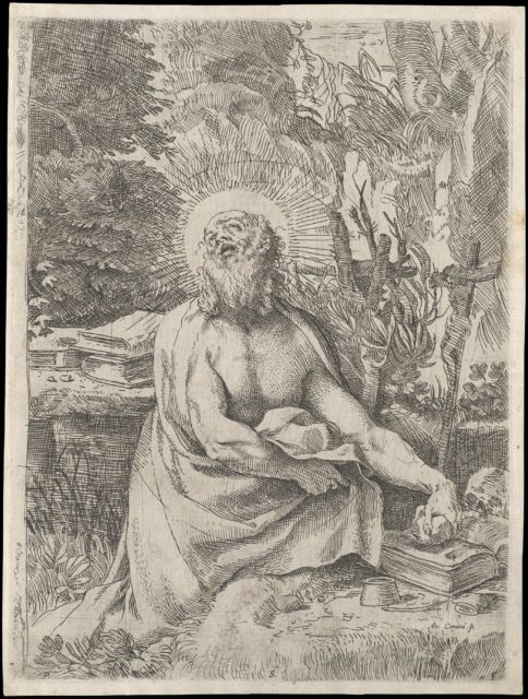 Saint Jerome in the Wilderness