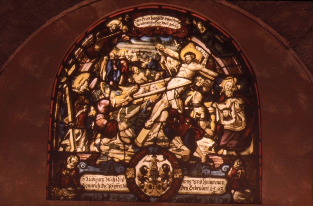 The Raising of the Cross