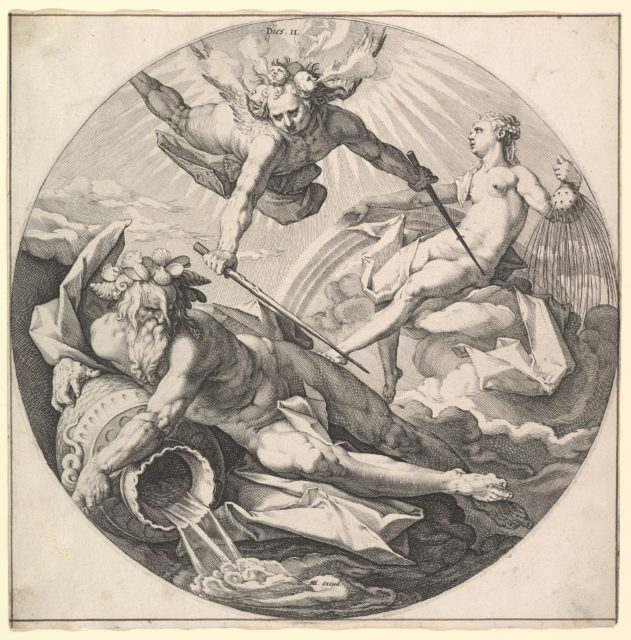 The Second Day (Dies II), from the series The Creation of the World