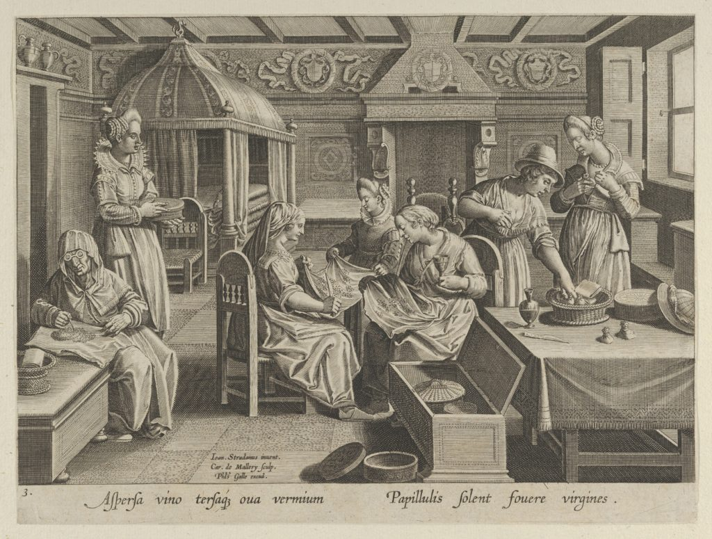 """The Incubation of the Silkworm Eggs, Plate 3 from """"The Introduction of the Silkworm"""" [Vermis Sericus]"""