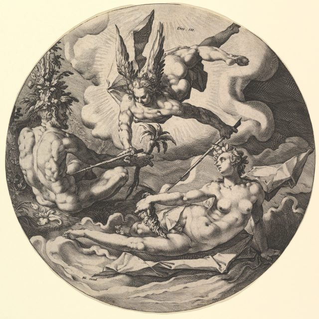 The Third Day ( Dies III), from the series The Creation of the World