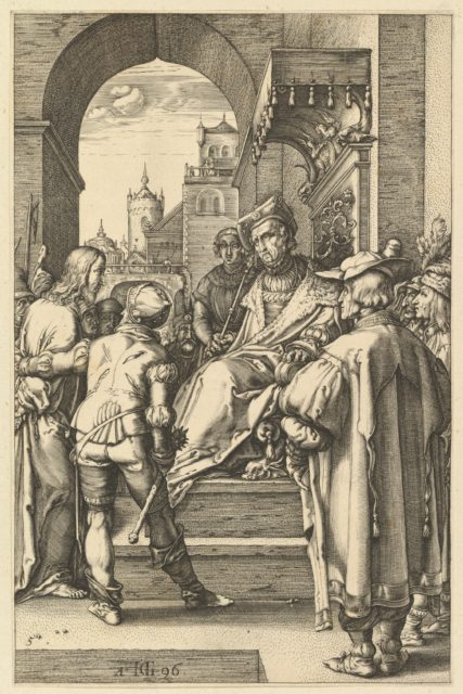 Christ before Pilate, from The Passion of Christ
