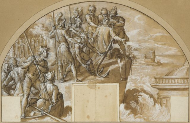 The Martyrdom of Saint Clement I, Pope