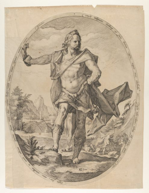 Samson from Heroes and Heroines of the Old Testament