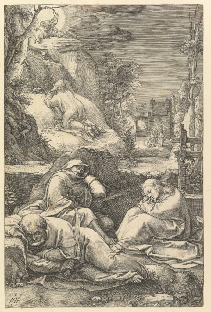 The Agony in the Garden, from The Passion of Christ