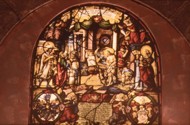 The Flagellation, Christ at the Column