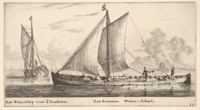 """A """"Watership"""" Carrying Water for Salt Works and Another One Carrying Water for the Breweries"""