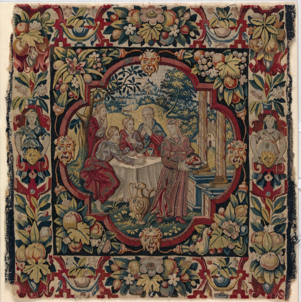 """""""Abraham Entertaining the Angels"""" from the Story of Abraham"""