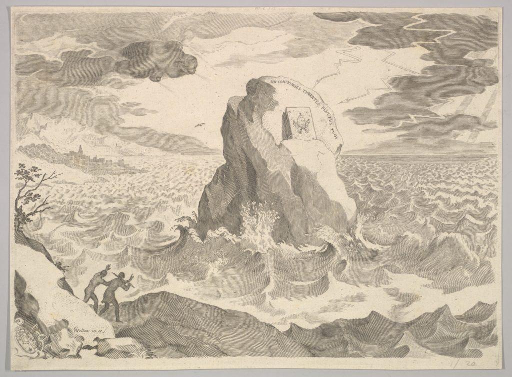 Allegory Against the Pelagian Heresy (Allégorie contre l'hérésy pélagienne et armoires)
