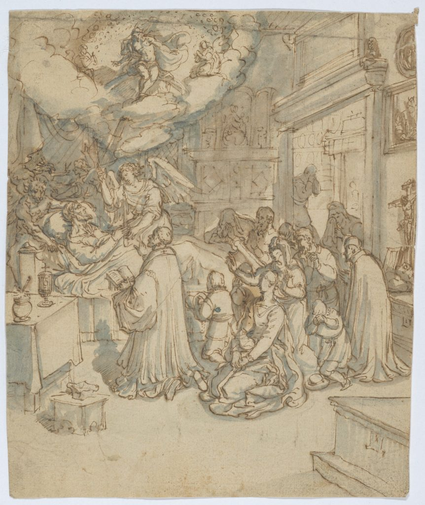 Allegory of the Death of a Religious Man