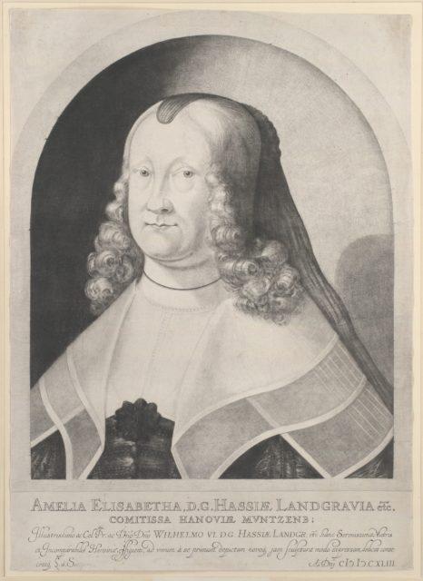 Amelia Elizabeth, Landgravine of Hesse