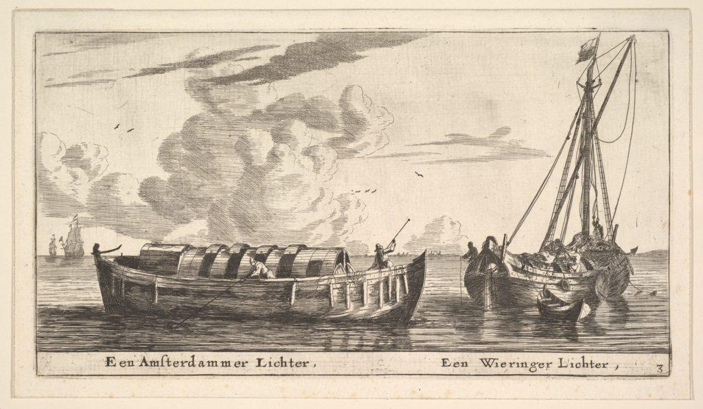 An Amsterdam Lighter and a Wieringer