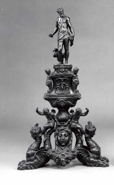 Andiron with the Figure of Jupiter