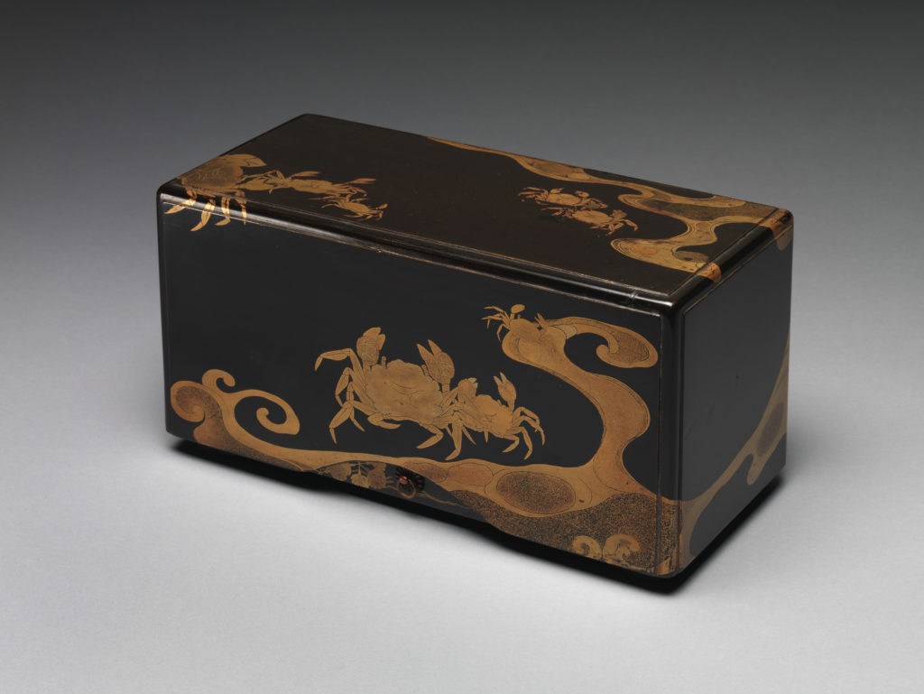 Box with Crabs and Waves