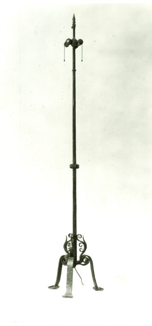 Candle pricket (pair with 1975.1.1463)
