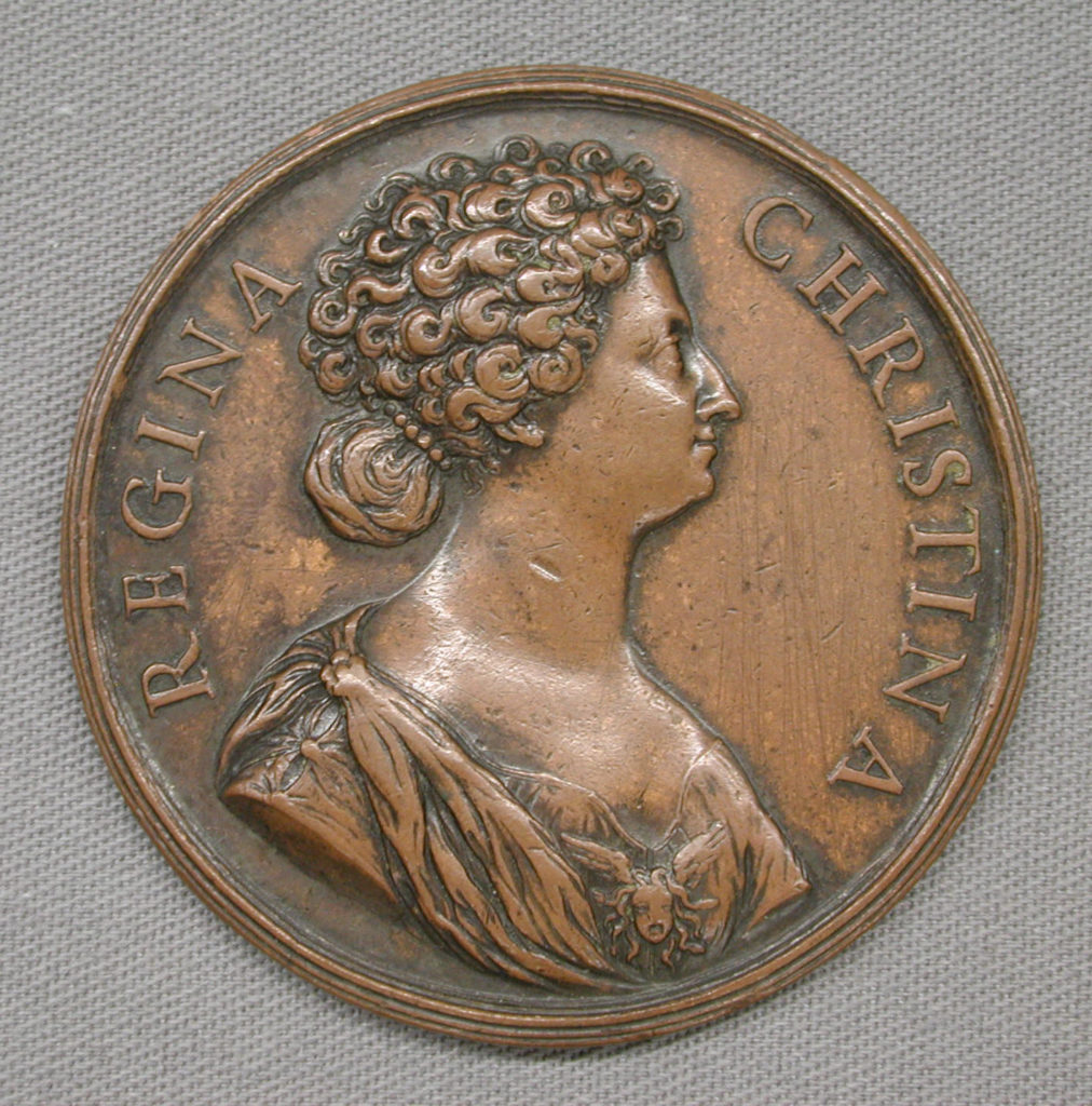 Conversion of Queen Christina of Sweden, 1654