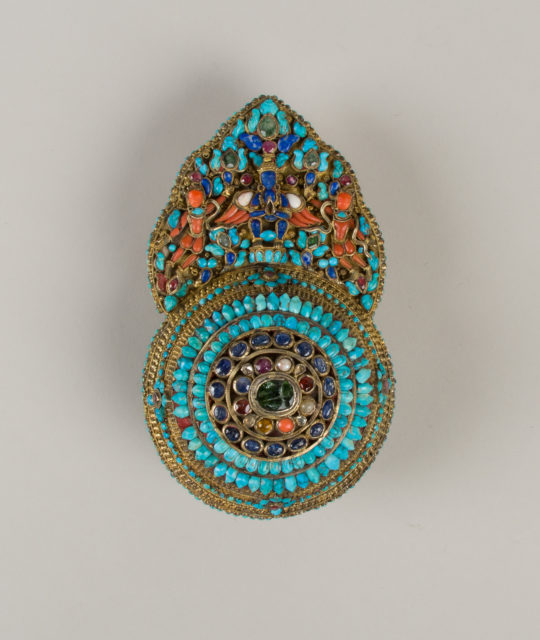 Crown Ornament for a Deity