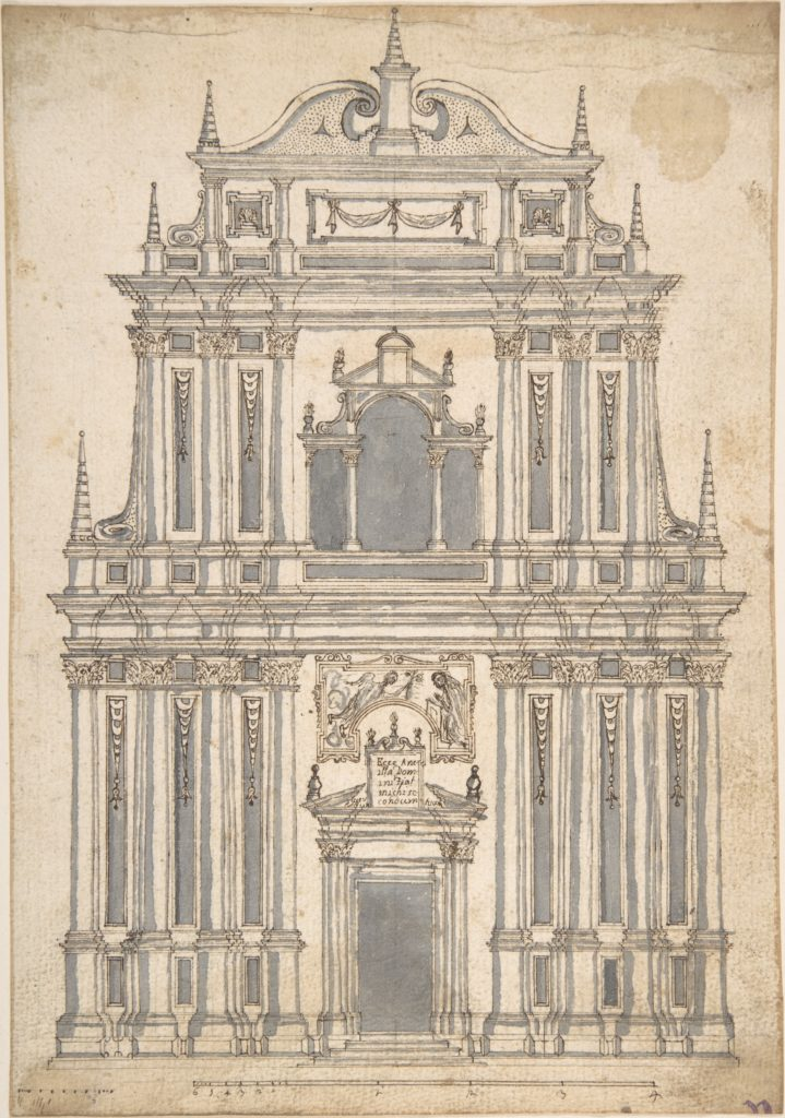 Design for a Church Facade
