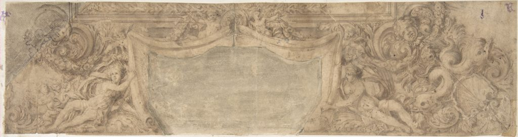 Design for Part of a Ceiling or Cornice