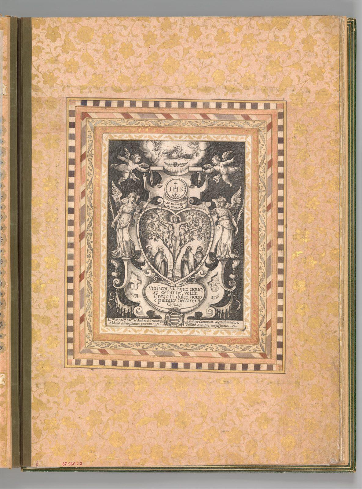 """Devotional Scene"", Folio from the Bellini Album"