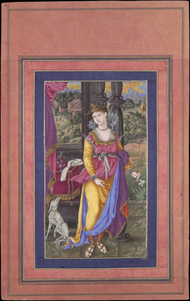 """Diana, Goddess of the Hunt"", Folio from the Davis Album"