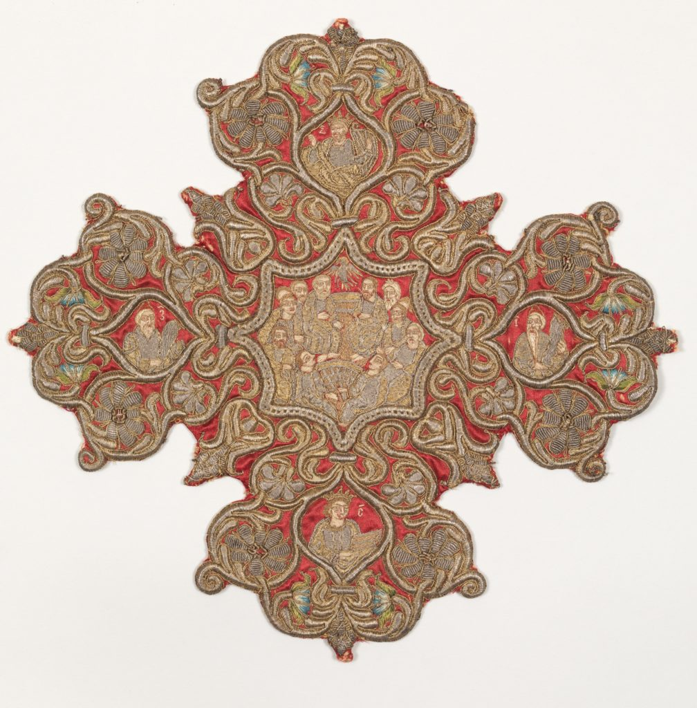 Embroidered cross from an Omophorion