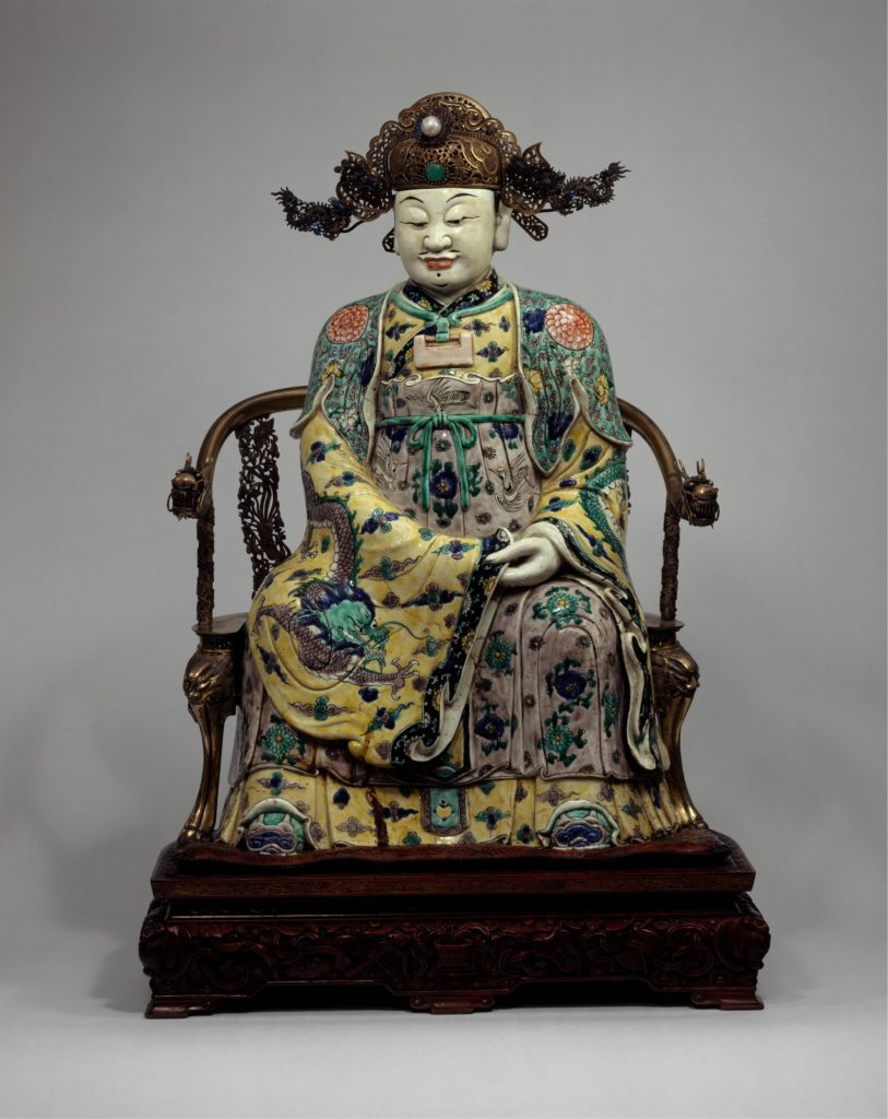 Figure, possibly the God of Wealth in His Civil Aspect