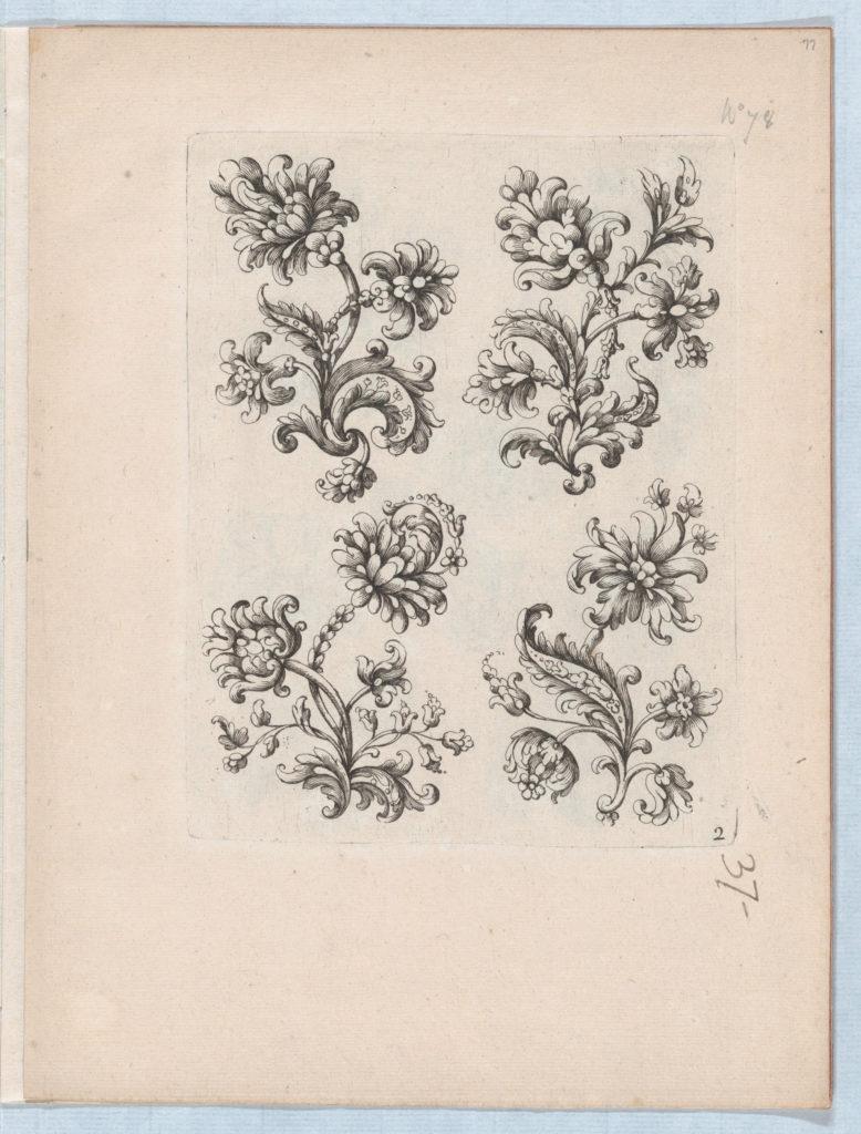Flowers, Plate 2