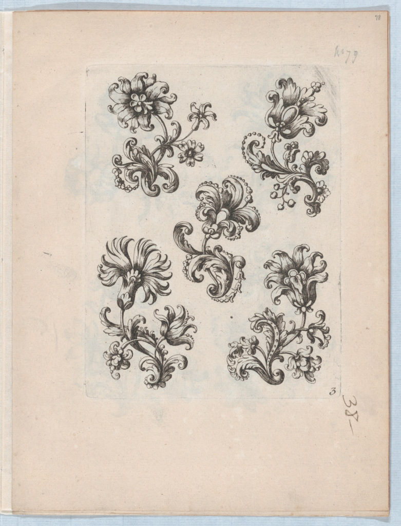 Flowers, Plate 3