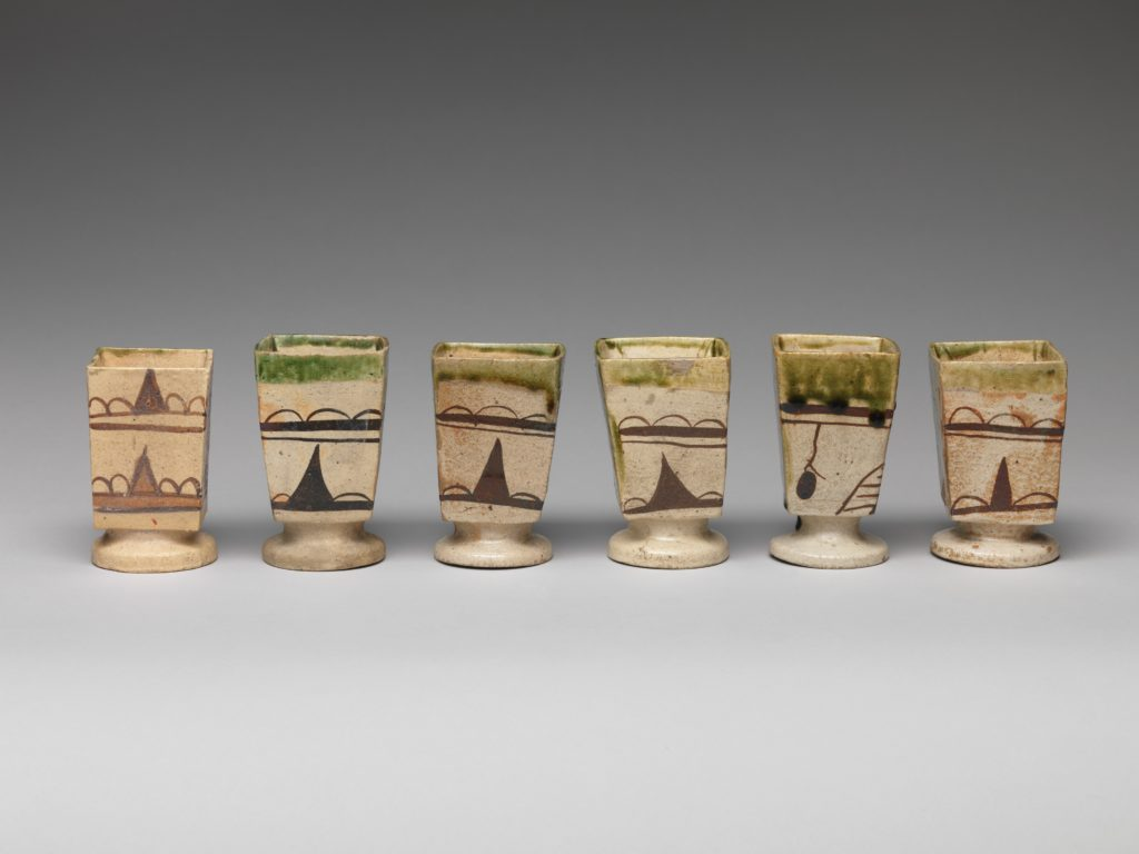 Footed Cup (one from a set of five)