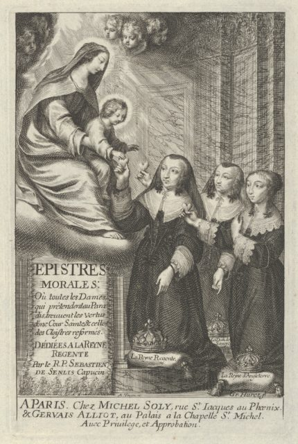 Frontispiece from Epistre Morales [...]