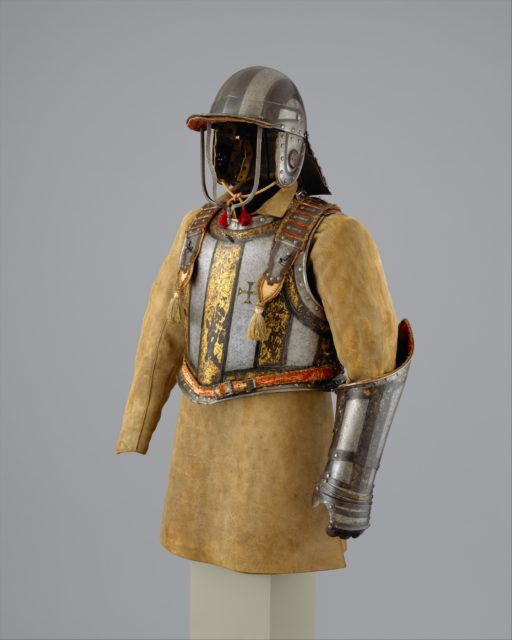 Harquebusier's Armor of Pedro II, King of Portugal (reigned 1683–1706) with Buff Coat