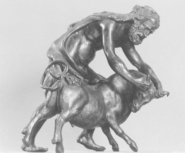 Hercules with the Cretan Bull