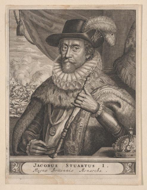 Jacobus Stuartus I. Magnæ Britanniæ Monarcha (James I, King of England)