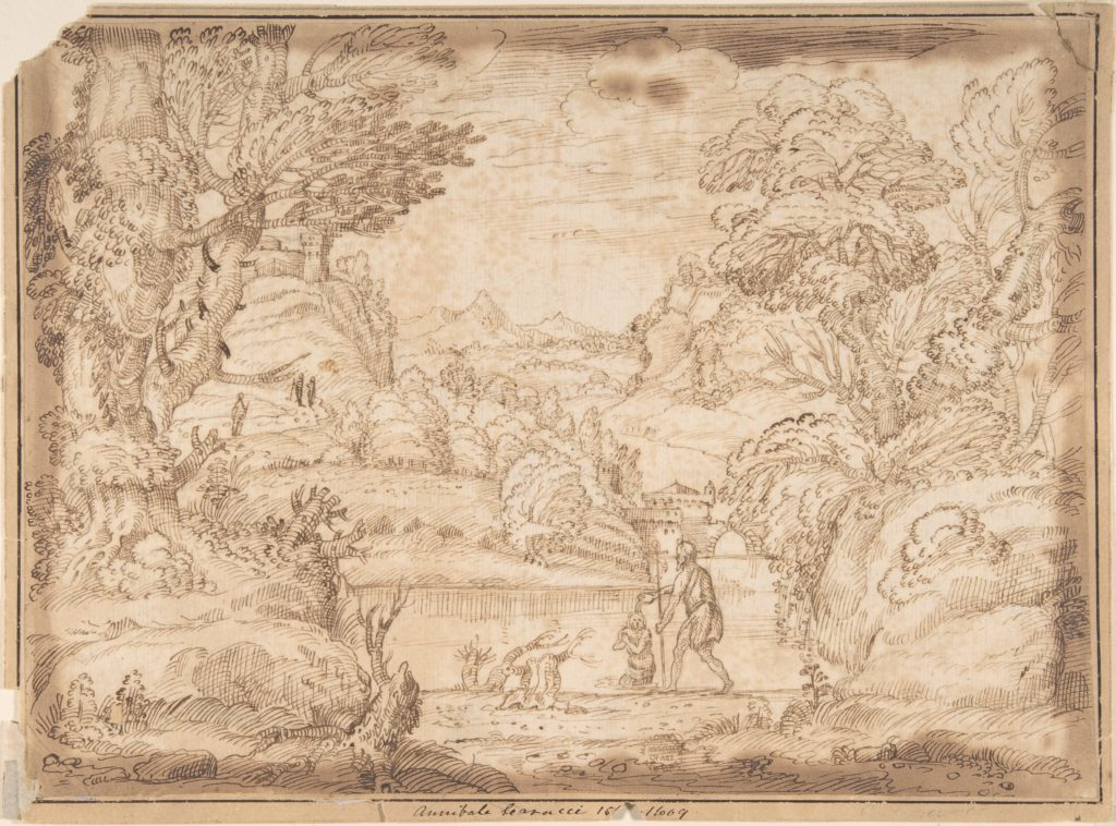 Landscape with the Baptism of Christ