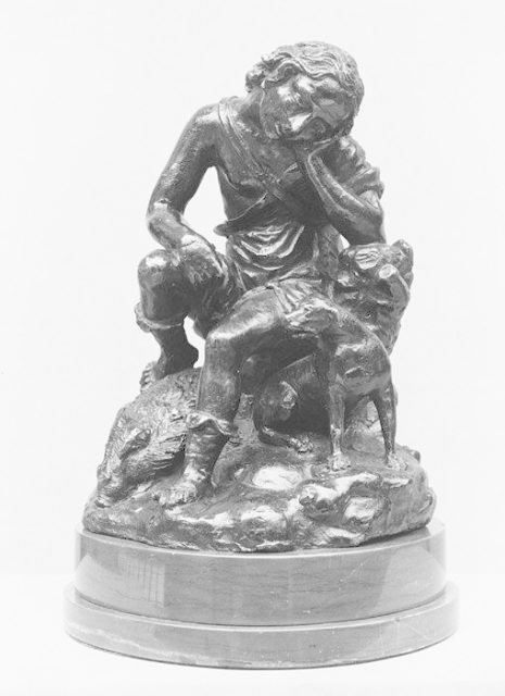Meleager Seated on a Boar
